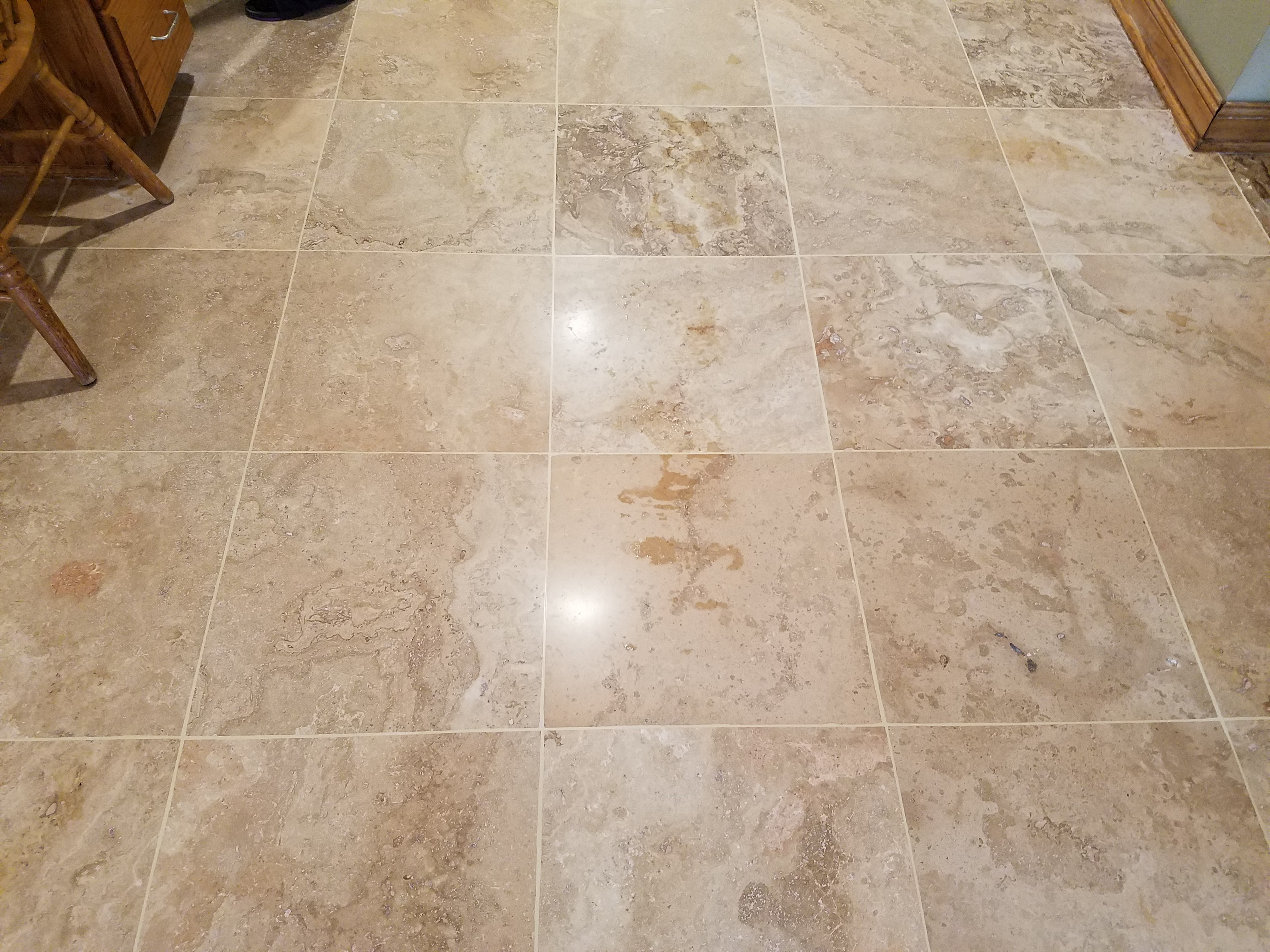 how to take care of travertine floors