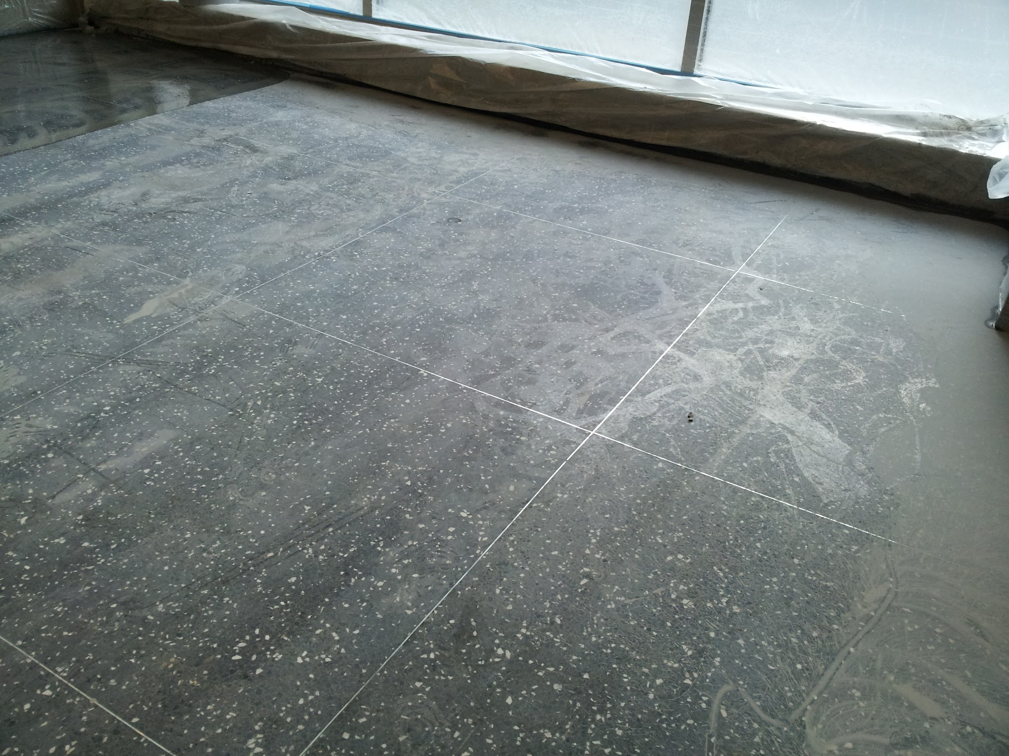How to clean terrazzo tile floors