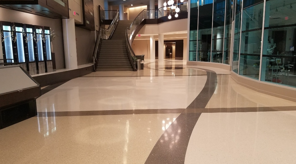 In Downtown Chicago Every Highrise Building Can Compete For The Best Lobby Design And Most Importantly Marble Terrazzo Floors